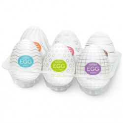 Pack Eggs - 6 colors Package