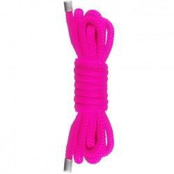 Cuerda atar japonesa - MINI rosa (1,5m)