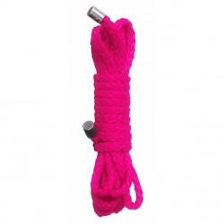 Cuerda atar KINBAKU - rosa (1,5 m)