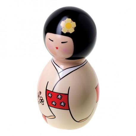 Muñeca Kokeshi vibradora