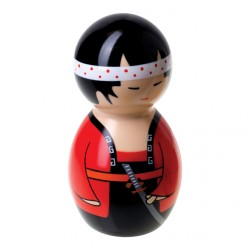 Muñeco Kokeshi vibrador