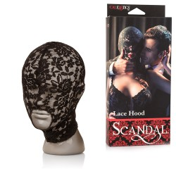 Máscara tela bordada - LANCE HOOD