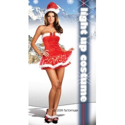 6049 - Vestido Navidad con luz - Holiday De-Light (2p)