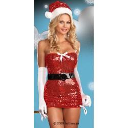 5960 - Vestido Navidad mamá Noël - Red Hot Holidays (4p)