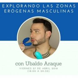 Taller: Explorando las zonas erógenas masculinas con Ubal Araque