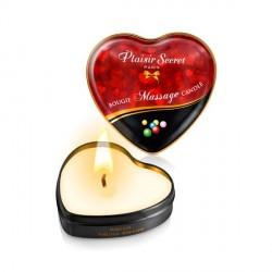 Vela masaje mini corazón - CHICLE