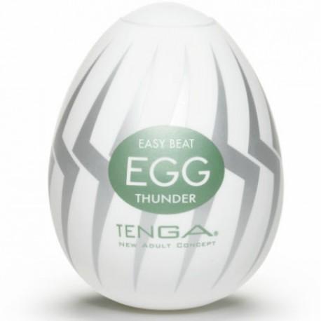 Huevo masturgador Tenga - Egg THUNDER