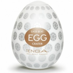 Masturbador CRATER huevo Tenga EGG
