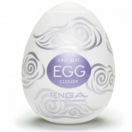 Huevo masturgador Tenga - Egg CLOUDY