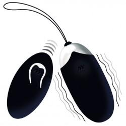 Huevo vibrador recargable FLIPPY EGG II negro