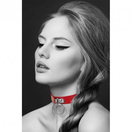 Collar rojo ajustable