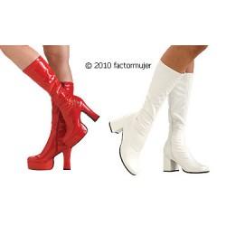 Zapato bota de plataforma