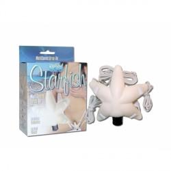 Arnés vibrador estrella para clítoris STARFISH
