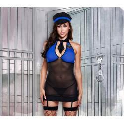 1298 - Disfraz de policia