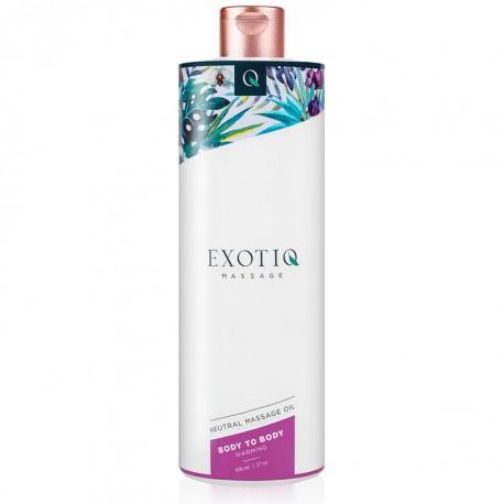 Aceite de masaje EXOTIQ calor 500ml
