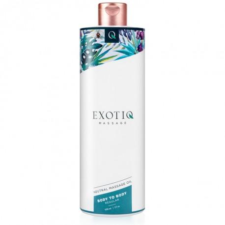 Aceite de masaje body to body EXOTIQ 500ml