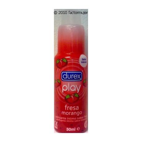 Lubricante Play Fresa Durex