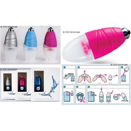 Touché Vibrating Ice Massager - GRANDE