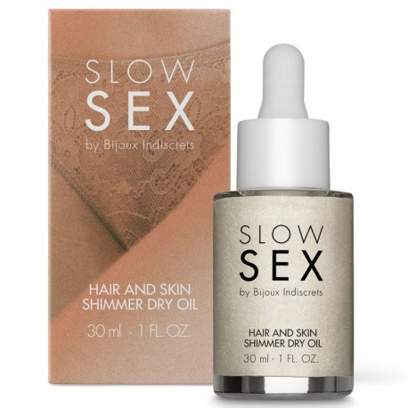 Slow Sex SHIMMER DRY OIL aceite iluminador