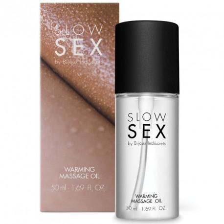 Slow Sex WARMING MASSAGE aceite efecto calor