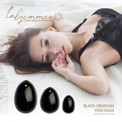 Set huevos vaginales OBSEDIAN (L-M-S)