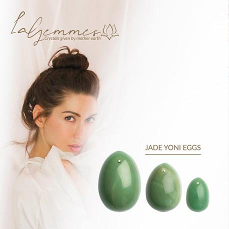 Set huevos vaginales JADE (L-M-S)