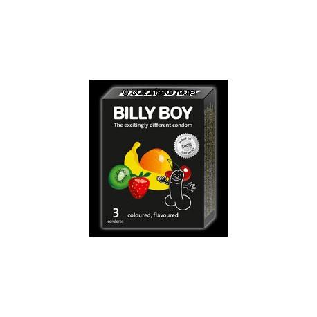 Condón Billy Boy Sabores (3 unidades)