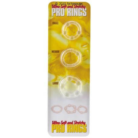 Set pro rings silicona