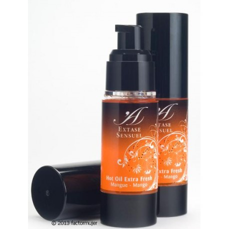 Aceite Hot Extase Sensuel - Extra Fresh MANGO