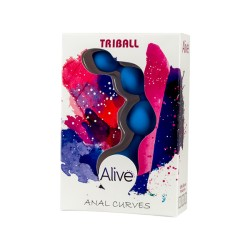 Tira anal Mini TRIBALL azul