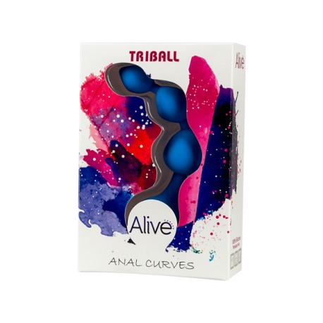 Tira anal Mini TRIBALL azul