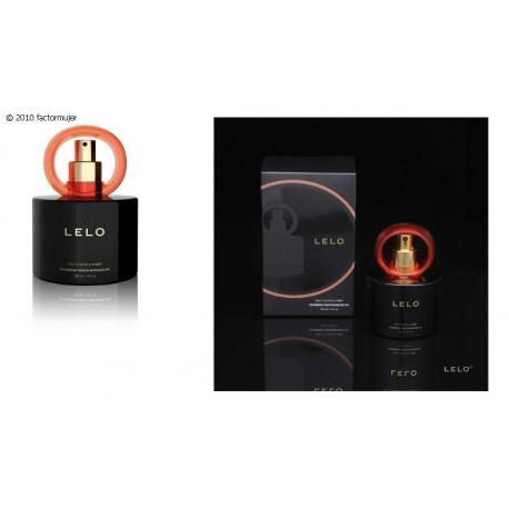 Aceite masaje Lelo - Clavo picante y Ambar