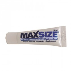Crema vigorizante MAXSIZE Swiss Navy 10ml