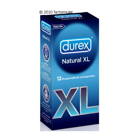 Condón Durex Natura XL (12)