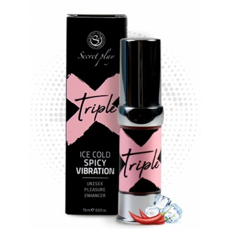 TRIPLE X gel intensificador de placer