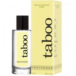 Perfume con fermonas EQUIVOQUE para ÉL y ELLA TABOO
