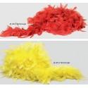 Boa de plumas - colores (60 gr.)