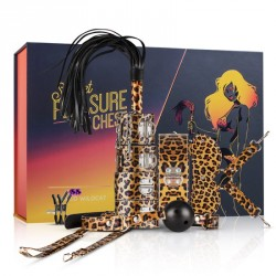 Set Bondage LEOPARDO 9 piezas Secret Pleasure CHEST