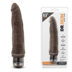 Vibrador realista Chocolate VIBE 7 (18cm)