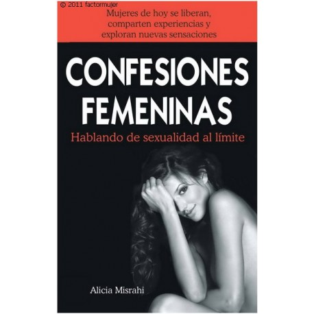 Libro confesiones femeninas