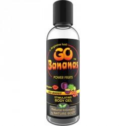 Lubricante estimulante GO BANANAS Fruits (100ml) orgánico