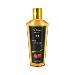 Aceite masaje FRESA (250ml) Plaisir Secret