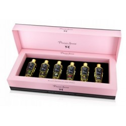 6 aceites masaje COFFRET (6 x 30ml) Plaisir Secret
