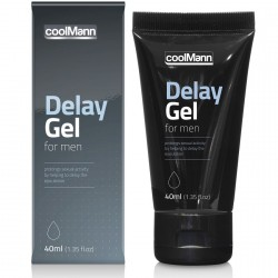 Retardante Delay Gel coolMann (40ml)