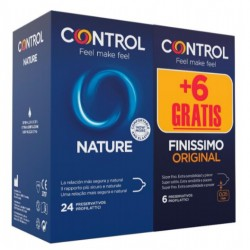 PROMO Control NATURE (24) + Finissimo (6)