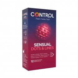 Control SENSUAL Dots & Lines (12)
