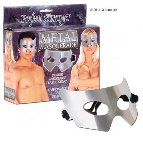 Máscara de metal