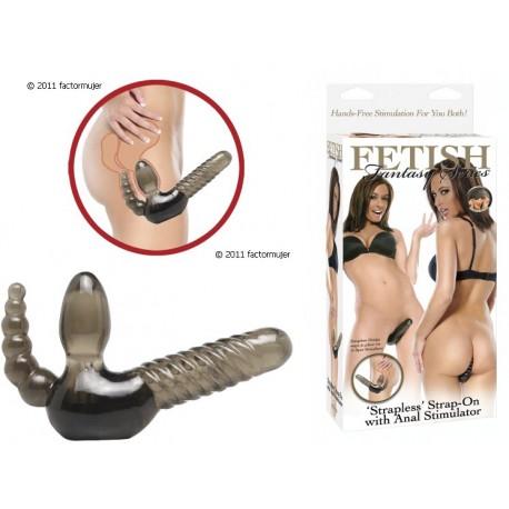 Arnés strapless vaginal/anal