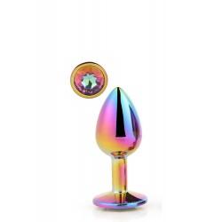Plug brillante MEDIUM Aluminio multicolor M