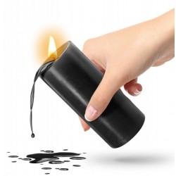 Vela negra de baja temperatura para bondage